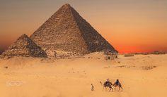 Let's go home - Gisa Pyramids / Cairo