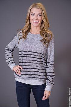 Red 23 Onyx Stripe Sweatshirt $106.00