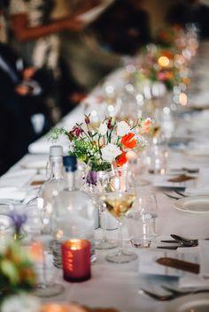 TAFELAANKLEDING - Bloemen van Loes - Bloemen van Loes Wedding Decorations, Table Decorations, Tablescapes, Wedding Flowers, Lisa, Jar, Home Decor, Wedding Decor, Table Scapes