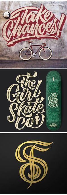 Scott Biersack   #lettering  #typography    https://dribbble.com/youbringfire