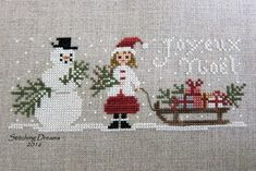 A couple of finishes, Argentina memories, and a fond farewell. Cross Stitch Christmas Stockings, Xmas Cross Stitch, Cross Stitch Cards, Cross Stitch Samplers, Cross Stitch Kits, Christmas Cross, Cross Stitch Designs, Cross Stitching, Cross Stitch Embroidery
