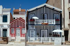 Aveiro in Centro de Portugal Aveiro is a place where Art Nouveau meets modernity, full with the blue-tiled facades of centuries old fishmongers, bakeries and an ever present youth feel.