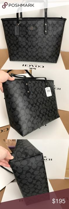 🍀Coach Bag🍀 100% Authentic Coach Tote Bag, brand new with tag!😍😍😍 Coach Bags Totes