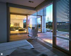 Sypialnia styl Skandynawski - zdjęcie od DOMY Z WIZJĄ - nowoczesne projekty domów - Sypialnia - Styl Skandynawski - DOMY Z WIZJĄ - nowoczesne projekty domów