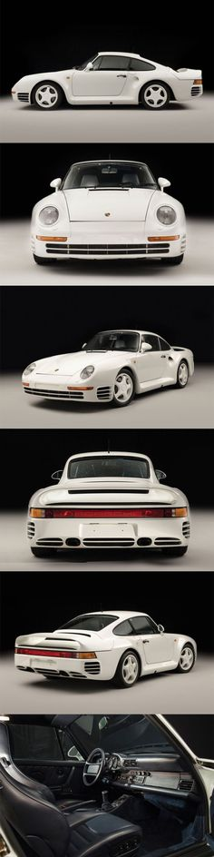 1986 Porsche 959 Komfort / 337 prod. / 444hp / Group B homologation / Germany / white