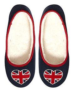 union jack slippers