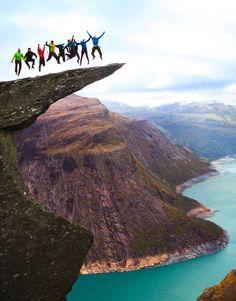 Trolltunga,Odda, Norway