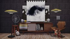 Sims 4 CC's - The Best: TS3 Mid Century Modern Collection Conversions by D...
