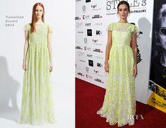 Kasia Smutniak In Valentino – Cinema Italian Style 2013 – 'The Great Beauty' Opening Night Premiere