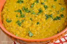 Slimming Eats Low Syn Lentil Curry (Instant Pot recipe) - Gluten Free, Dairy Free, Vegetarian, Slimming World and Weight Watchers friendly Good Healthy Recipes, Healthy Cooking, Baby Food Recipes, Indian Food Recipes, Cooking Recipes, Toddler Recipes, Kid Recipes, Sauce Recipes, Cooking Ideas