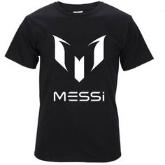 summer Lionel Messi Barcelona homme drake Men's t-shirts casual fitness black brand clothing cotton Hip Hop streetwear tshirt