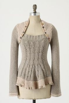 Pinafore Pullover from Anthropologie, wish I had purchased this.