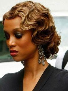 Roaring Retro Waves - Tutorials to create Great Gatsby inspired hairstyles