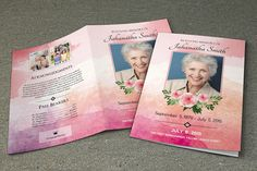 Funeral Program Template Obituary Program Template By Easyfuneral