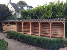 40 Ideas Garden Pallet Diy Fire Pits For 2019 Garden Bench Plans, Gazebo Plans, Garden Tool Shed, Outdoor Firewood Rack, Firewood Shed, Firewood Storage, Shed Design, Garden Design, Wooden Storage Sheds