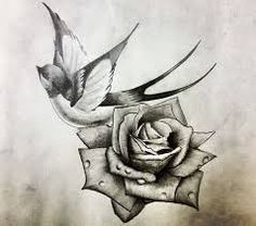 Resultado de imagen de rose tattoo