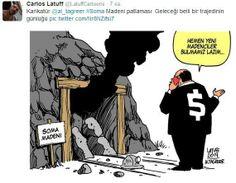 Brezilyalı karikatürist Soma faciasını çizdi! | Medya Tava