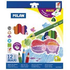 Farbičky MAXI trojhranné