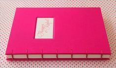 Livro cor de rosa | Livro de assinaturas para o noivado de T… | Flickr
