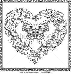 Coloring Book Pages Stock Photos, Images, & Pictures | Shutterstock