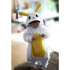 Rabbit Onesie   Rabbit Baby Kigurumi   Rabbit Baby Costume - Baby Onesies  http://www.ikigu.com/rabbit-baby-kigurumi.html
