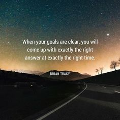 """If you have no goals, your time and your life will be frittered away by inconsequentials. LmC..................  """"brian-tracy-quote-set-clear-goals"""""""