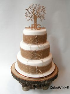 The wish of my wedding couple was a cake with...