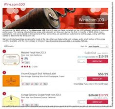 Don't Yet Weep For Vinous Humanity (Wine.com's Top 100 Wines 2015)