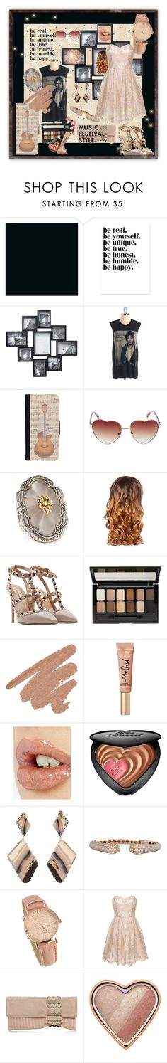 """Music Festival Style - from Italy - 2"" by tempestaartica ❤ liked on Polyvore featuring CellPowerCases, Wet Seal, Konstantino, Lipsy, Valentino, Maybelline, Charlotte Tilbury, Too Faced Cosmetics, Jemma Wynne and Anita Ko"