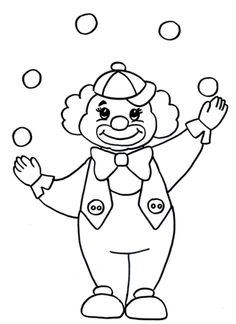 8 Best Ausmalbilder Clown Images In 2018 Coloring Pages Clowns