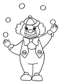malvorlagen gratis : malvorlagen clown | malvorlagen | clowns, clowns malen und malvorlagen