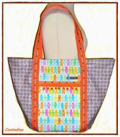 Markttasche by contadina's way, pattern by farbenmix.de #nähen #taschenspieler2 #sewing #handmade #diy #bags #taschen