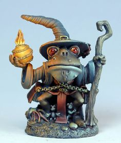 Frog Wizard - Anthropomorphic Animals - Miniature Lines