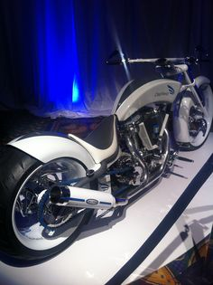 Specially made bike by American Choppers for a company called Cepheid