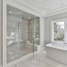 25 Awesome Master Bathroom Ideas For Home. If you are looking for Master Bathroom Ideas For Home, You come to the right place. Below are the Master Bathroom Ideas For Home. This post about Master Bat. Bad Inspiration, Bathroom Inspiration, Bathroom Ideas, Spa Master Bathroom, Bathroom Goals, Bathroom Signs, Bathroom Organization, Bathroom With Closet, Shower Ideas