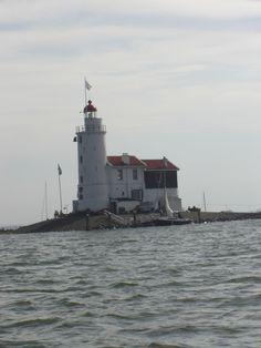 """The lighthouse """"Het Paard van Marken"""""""