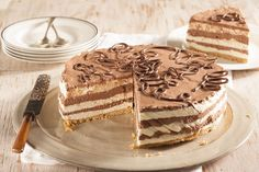 Fridge cheesecake • No, you don't need the oven to enjoy this layered cheesecake!