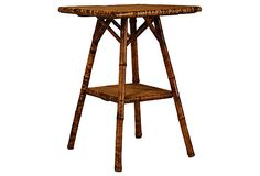 19th-C. French  Bamboo   Table on OneKingsLane.com