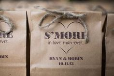 Wedding Favor S'mores