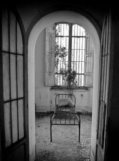 Tuscany's Abandoned Asylum for the Criminally Insane. Photo by Romina Margherita A Diaz.