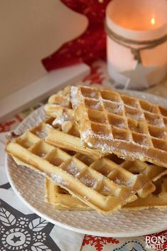wafels_st Healthy Baking, High Tea, Good Food, Food And Drink, Favorite Recipes, Sweets, Cooking, Breakfast, Brunches