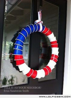 This Solo Cup Wreath is the Most 'Merican Way to Celebrate the 4th