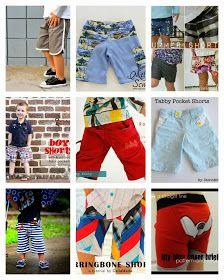 Boy, Oh Boy, Oh Boy Crafts: FREE Boy Shorts Tutorials