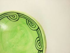 Guale Inspired  Bowl by elizabethpottery on Etsy, $15.00