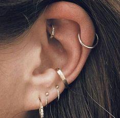 Ear Jewelry, Body Jewelry, Jewelry Accessories, Fine Jewelry, Jewelry Findings, Jewelry Ideas, Jewelry Box, Piercing Implant, Daith Piercing