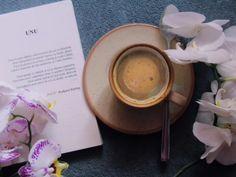 "28 aprecieri, 2 comentarii - Georgeana G. Aciobăniței (@georgeanagaciobanitei) pe Instagram: ""time for coffee and reading ☕📖"" Tableware, Instagram, Dinnerware, Dishes, Place Settings, Serveware"