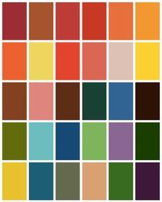 Autumn Color Palette - www.tealinspiration.com