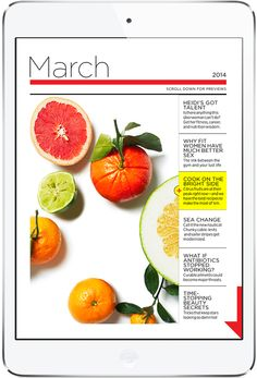 Table of Content. Women's Health Tablet Magazine. More on www.magpla.net MagPlanet #TabletMagazine #DigitalMag