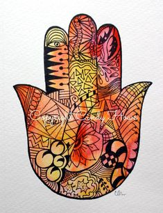 Digital art digital downloadHamsa Hand Hamsa by ArtworksEclectic