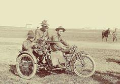 VINTAGE 1901 INDIAN MOTORCYCLE POSTER PRINT 16x24 HI RES 9 MIL PAPER